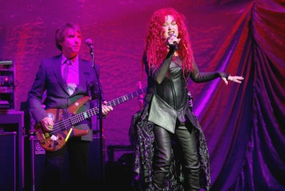 Cyndi Lauper at PNE Amphitheatre