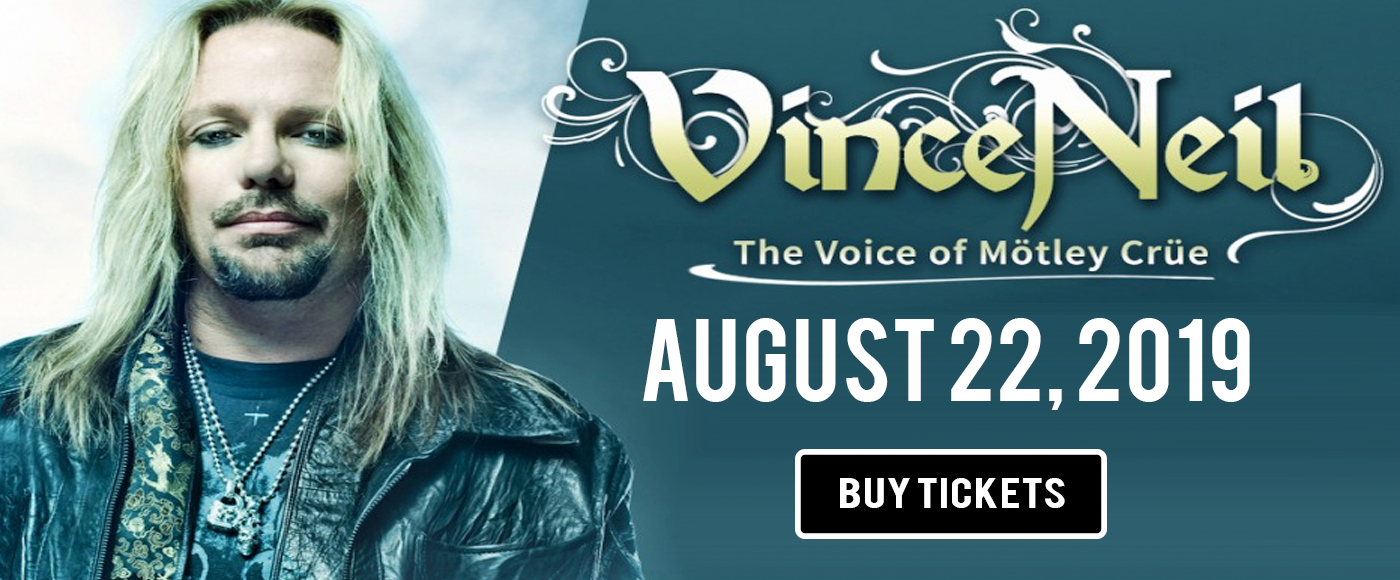 Vince Neil at PNE Amphitheatre
