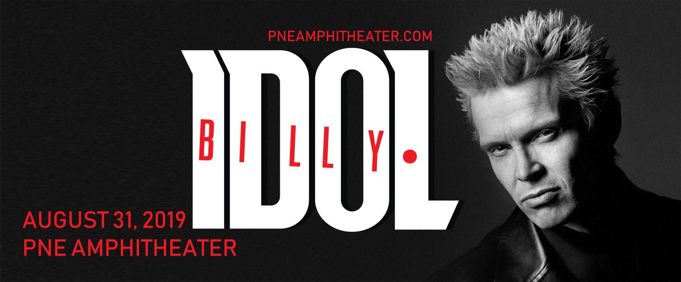 Billy Idol at PNE Amphitheatre