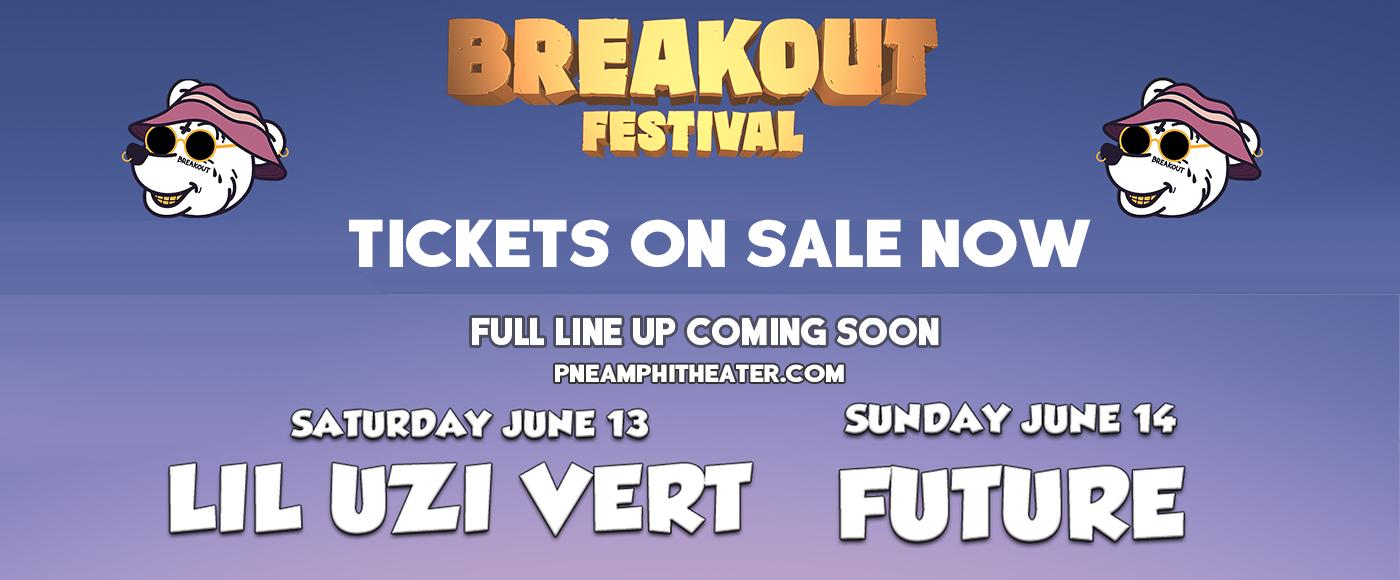 Breakout Festival - 2 Day Pass at PNE Amphitheatre